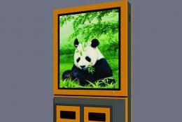 广告垃圾箱-广告垃圾箱-LJX-12