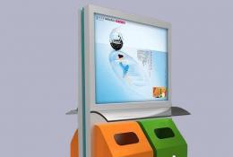 广告垃圾箱-广告垃圾箱-LJX-15
